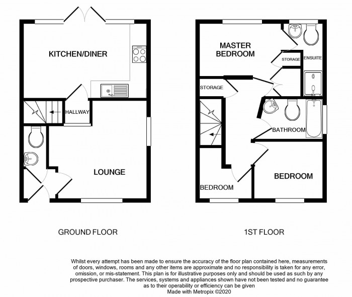 Floorplan for Higgs Row, Lawley