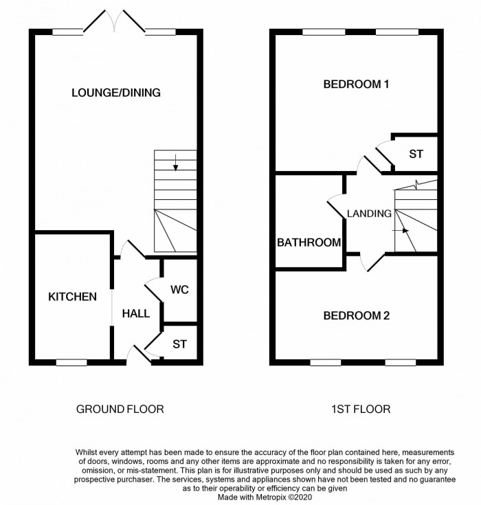 Floorplan for Duddell Street, Lawley